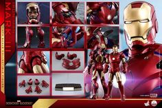 Iron Man – 1/4th Scale Mark III Collectible Figure Coming Soon     DisKingdom.com   Disney   Marvel   Star Wars - Merchandise News Iron Man One, First Iron Man, Iron Men 1, Hidden Weapons, Hot Toys Iron Man, Battery Operated Led Lights, Circle Light, Star Wars Merchandise, Thing 1
