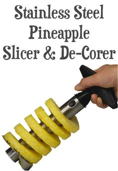 Stainless Steel Pineapple Slicer and De-Corer: 4.35 + FREE Shipping!!