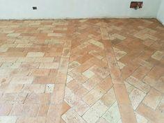 Work in progress: Trattamento di recupero di un pavimento in cotto ultimato