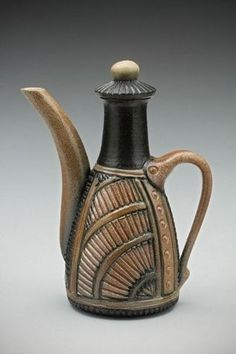 Ginger Steele Insomnia Pottery Teapot