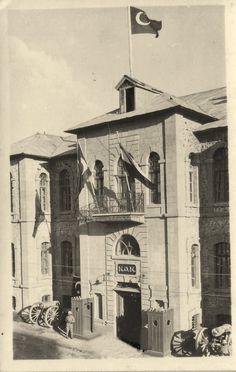 1930 yıllarında Erzurum kolordu binası