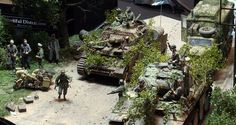 Military Diorama, Monster Trucks, Counter, Panther, Modeling, Buildings, Vehicles, Modeling Photography, Panthers