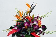 Bright and Tropical - Four Seasons Flowers
