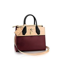 Discover Louis Vuitton City Steamer   Love this in the mini size in Bordeaux Beige