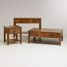One of my favorite discoveries at WorldMarket.com: Roland Table Collection