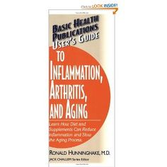 """Inflammation causes aches & pains of arthritis, discomfort of allergies, the breathing obstruction in asthma. But over the past several years, medicine has recognized that chronic inflammation is a key underlying factor in heart disease, Alzheimer's disease, some cancers, & the aging process itself. In this User's Guide, """"Dr. Ron"""" explains exactly how inflammation is involved in these diseases, how it can be easily measured, & the foods & supplements that can help prevent & reverse…"""