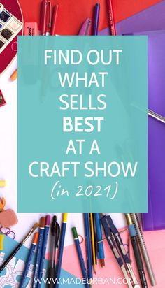 Some items sell better than others at craft shows, but there is also a way to make any item a bestseller. Find out which items typically sell best and how to make more sales no matter what you sell. Show Booth, Retail Merchandising, Make More Money, Craft Fairs, Best Sellers, Booth Ideas, Things To Sell, Handmade, Crafts