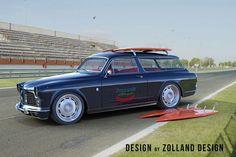 Autos aus dem Computer - Bo Zolland Design: Design-Update für Volvo V90