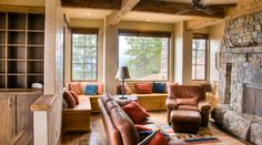 Love the bench seating for extra seating and storage. A great place for company to gather.