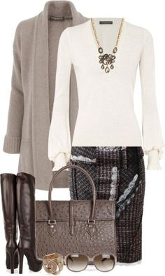 fall-and-winter-work-outfit-ideas-2018-6 85+ Fashionable Work Outfit Ideas for Fall & Winter 2018