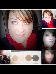 Younique mineral eye colors and splurge cream shadow in tenacious order yours, www.youniqueproducts.com/TanyaHowarda1