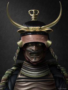 Demon <b>Samurai</b> Picture (2d, fantasy, character, demon, <b>samurai</b>, warrior ...