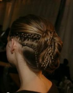 corn rows and braids