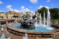 Manege square, near the Kremlin. Private excursions in Moscow with english speaking guide Arrymgold1@mail.ru