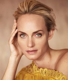 Supermodel Amber Valletta Graces the Pages of Telegraph Magazine March 2017 Issue