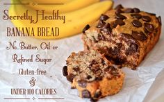 Secretly Healthy Banana Bread