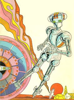 Mike Hinge cover for A Choice of Gods, Clifford Simak (1972 edition)