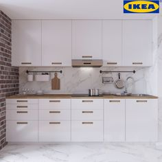 ikea marsta doors with cover panels Kitchen Corner Units, Kitchen Window Shelves, Ikea Kitchen Cabinets, Kitchen Paint Schemes, Ikea Kitchen Design, Kitchen Ideas, Wood Counter, Cool Kitchens, House Design