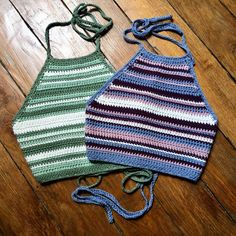 Handcrafted crochet halter top made out of high quality cotton. It is light and comfortable, perfect for summer. Pair it with high-waist shorts/pants/skirts, or pull it off as per your unique style; Crochet Halter Tops, Crochet Bikini Top, Knit Crochet, Crochet Clothes, Diy Clothes, Crop Top Pattern, Bikini Pattern, Jugend Mode Outfits, Mode Crochet