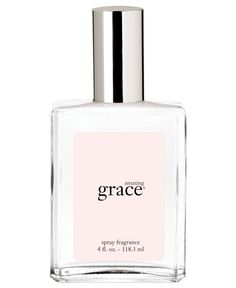 My absolute favorite!! philosophy amazing grace spray fragrance