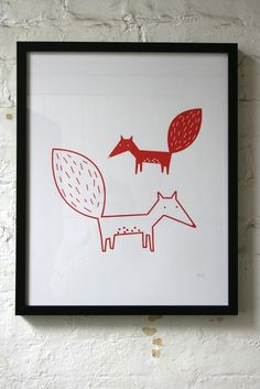Foxes again, see?