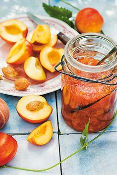 Pfirsichmarmelade mit Zitrone   Mein schönes Land bloggt
