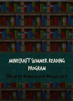 Skrafty Homeschool Minecraft is a sponsor of Free Homeschool Deals.Here's my fulldisclosure policy.    Skrafy Homeschool Minecraft is offering aFR Summer Reading Program, Library Programs, Teaching Activities, Minecraft Classroom, Minecraft School, Home Schooling, Kids Reading, Homeschool Curriculum, Phonics