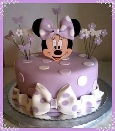minnie mouse and butterfly cake - Google Search