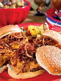 All-Decked-Out Barbecue Burgers