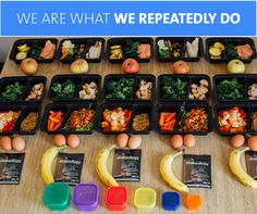 Week 9- Almost every weekend Social Media Specialist Amanda Meixner preps her meals and shows that meal planning doesn't have to be hard. Healthy eating is doable and through a little preparation, you can make delicious food for more than one meal. This week she is using the 21 Day Fix containers to plan her meals. Shopping list is included! #MealPrep #MealPrepMondays #MealPlanning #Recipes #HealthyEating