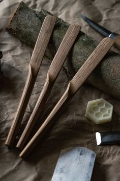 A Gallery of work made in my studio. Photos of the stages in producing my designs. — By Hand & Heart Balcony – home accessories Wooden Spoon Carving, Carved Spoons, Wood Spoon, Wood Carving Tools, Cooking Spatula, Cooking Spoon, Wooden Diy, Handmade Wooden, Good Housekeeping Cookbook