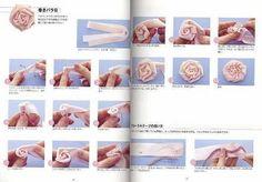 como fazer flores 1