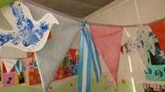¡Asi quedó la decoración patria de mi sala!