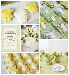 21 Best Green And Yellow Baby Shower Images Shower Ideas Baby