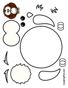 Coloring & Cutouts - Set by LaughingPea Toddler Arts And Crafts, Crafts For Kids, Toddler Learning Activities, Preschool Activities, Felt Crafts, Paper Crafts, Art Drawings For Kids, Little Owl, Potholders