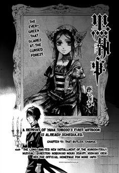 Kuroshitsuji 91 Page 1