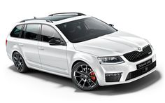 New Octavia vRS Estate - Gallery - ŠKODA - Looks great from this angle! www.truefleet.co.uk