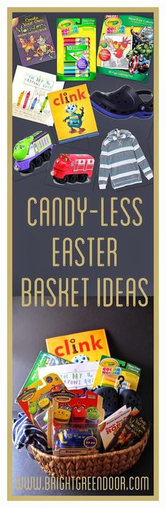 Easter basket for 2 year old toddler easter pinterest easter candy less easter basket ideas negle Choice Image