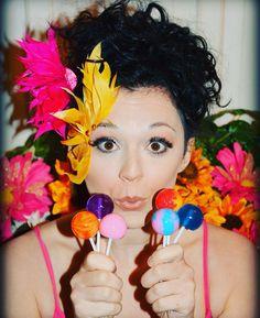 #ogourmet original gourmet lollipops photos shoot. Model: Lissa Curtis Photographer, makeup artist, artistic designer: Shanna Pinet