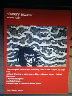 slavery excess