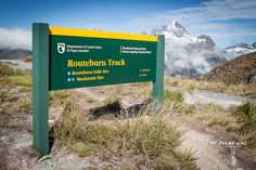 Routeburn Great Walk, Harris Saddle, Fiordland, New Zealand, hiking