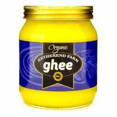 Buy Pure Butter Ghee (Organic) online from Spices of India - The UK's leading Indian Grocer. Free delivery on Pure Butter Ghee (Organic) - Netherend Farm (conditions apply). Organic Ghee, Non Organic, Organic Recipes, Indian Food Recipes, Ghee Butter, Deep Conditioning Treatment, Indian Dishes, Cooking Oil, Balanced Diet