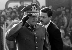 Pinochet is advised of his final destination.
