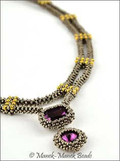 The Tatiana Necklace : Manek-Manek Beads - Jewelry | Kits | Beads | Patterns