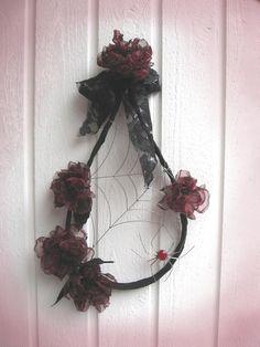 Wreath, Mistress of da house Mistress, Grapevine Wreath, Grape Vines, Crafting, Wreaths, Halloween, House, Home Decor, Decoration Home