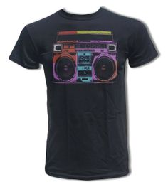 Boombox T Shirt - Retro Tee - Graphic Tees for Men & Women