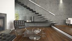 5 pomysłów na beton w salonie  - zdjęcie numer 5
