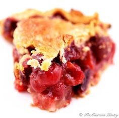 Clean Eating Cherry Pie www.TheGraciousPantry.com