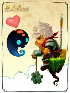 Happy Friday from Bastion by ~JenZee on deviantART
