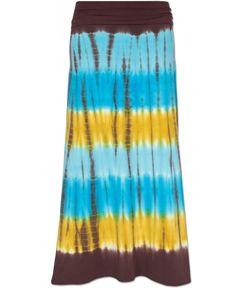 Good Vibes Tie-Dye Skirt